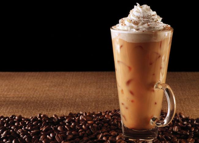 холодный кофе с шоколадом