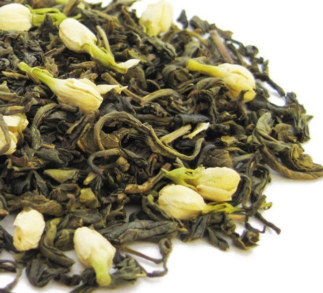 полезные добавки к чаю: жасмин