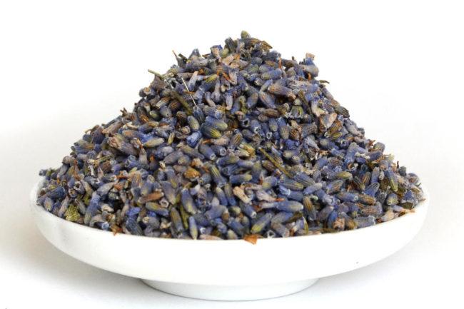 добавки в чай: лаванда