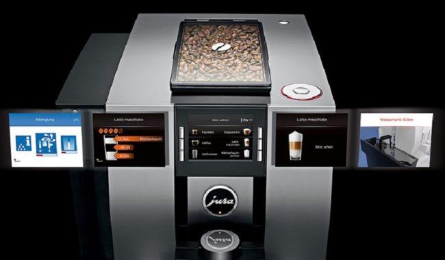 дисплей кофемашины