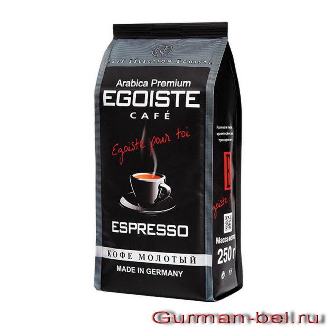 кофе эгоист эспрессо молотый