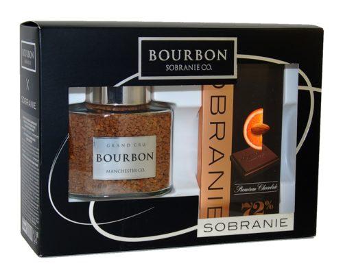 кофе Bourbon Sobranie подарочный набор