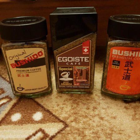 Кофе Бушидо и Эгоист