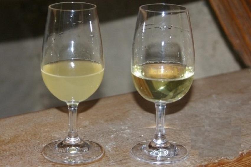 вино с осадком и без