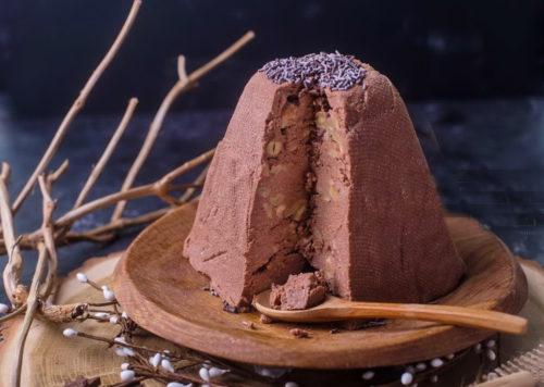 Пасха шоколадная заварная