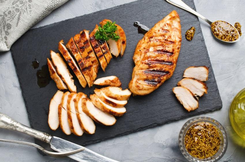 курица гриль в маринаде с горчицей