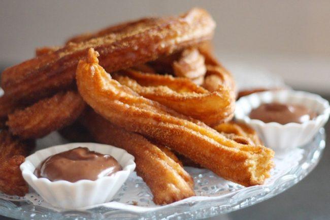 испанский десерт чуррос