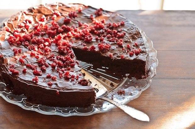 шоколадный торт без выпечки классический