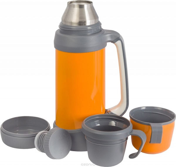 термос с дополнительной чашкой