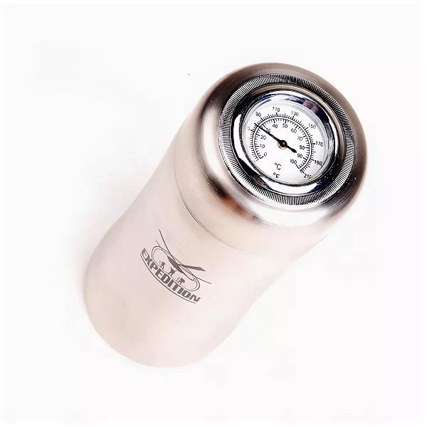 термос с термометром