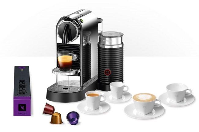 Nespresso кофемашина и капсулы Неспрессо