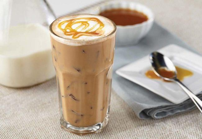 айс кофе - кофе со льдом