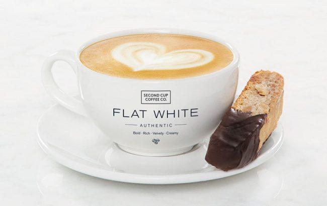 офе плоский белый Flat white