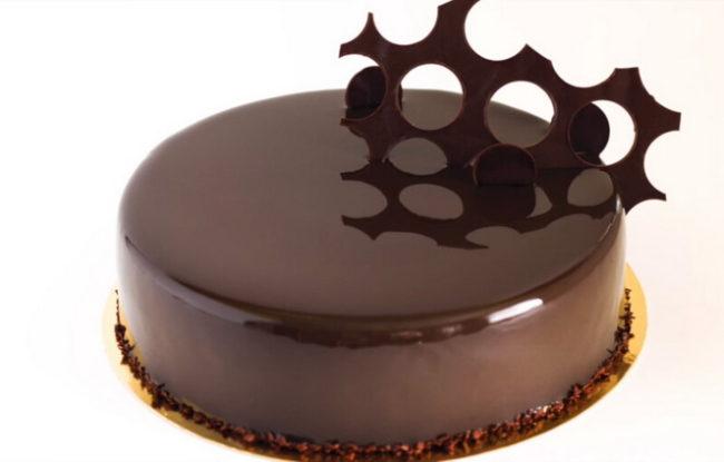 Крем ганаш для выравнивания торта