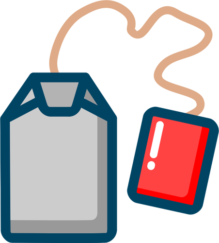 чайный пакетик с логотипом компании на заказ