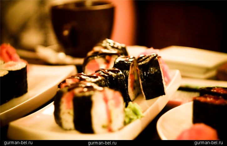 чай и суши