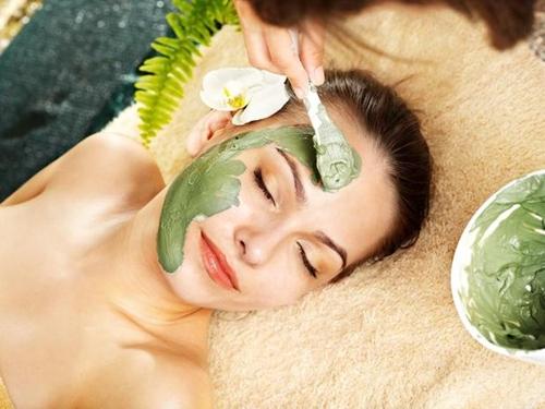 маски для лица на основе зелёного чая