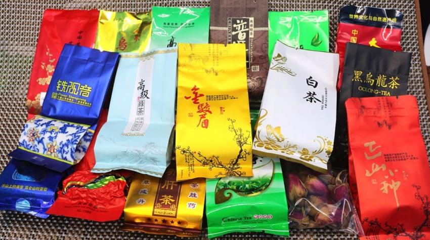 набор - 18 видов китайского чая
