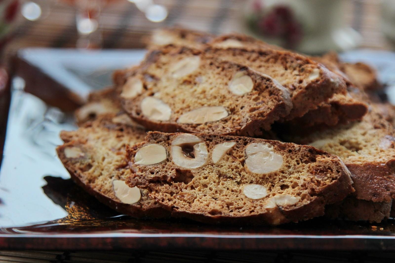 Кофейно-ореховое бискотти - рецепт