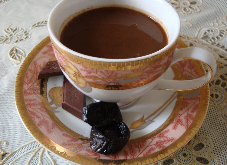 Кофе с черносливом - рецепт