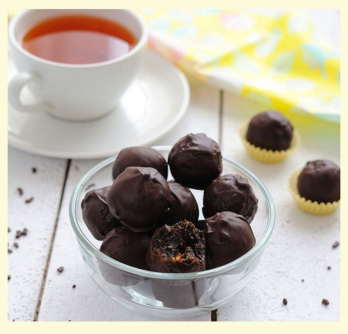 Шоколадно - кофейные Конфетки - рецепт
