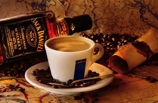 Кофе с виски - рецепты