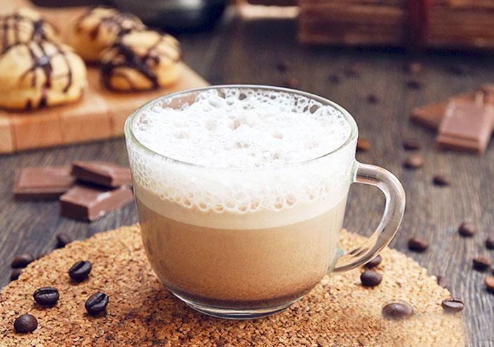 Ванильный раф-кофе