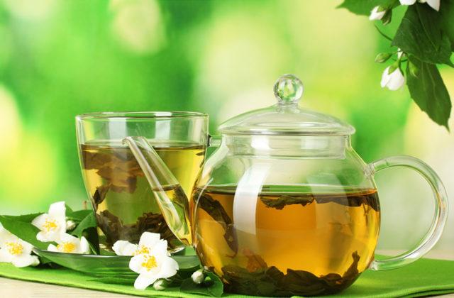 зелёный чай для похудения и снижения веса