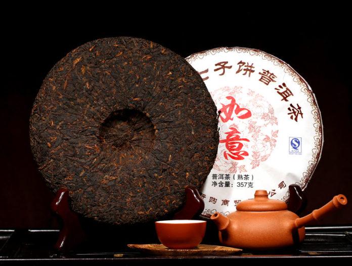 китайский чай пуэр: его виды и вкус