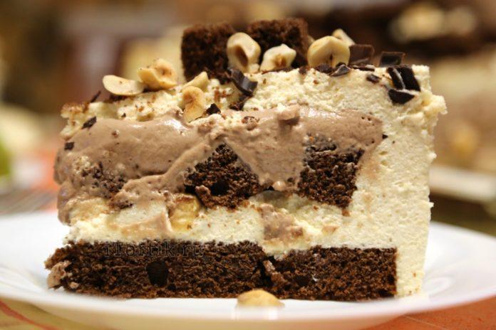 лучший десерт - шоколадный торт с
