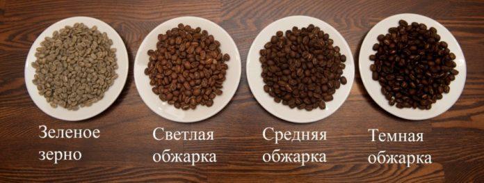 обжарка кофе: виды, степень обжарки
