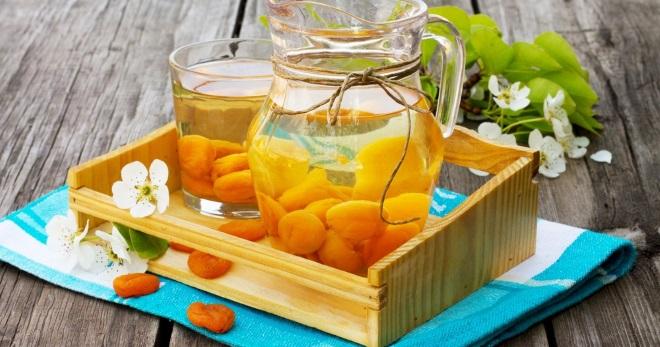 чай с абрикосом