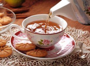 заваривание чая Дарджилинг
