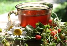 чай с земляникой: польза, рецепты