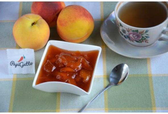 персиковое варенье с корицей