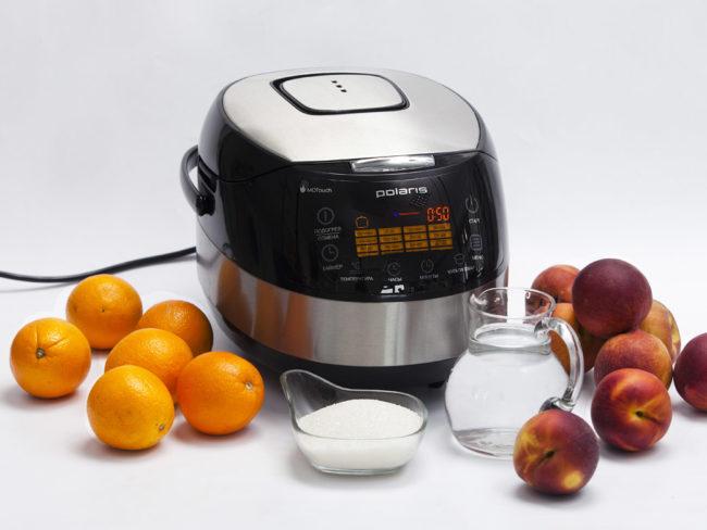 рецепт варенья из персиков в мультиварке