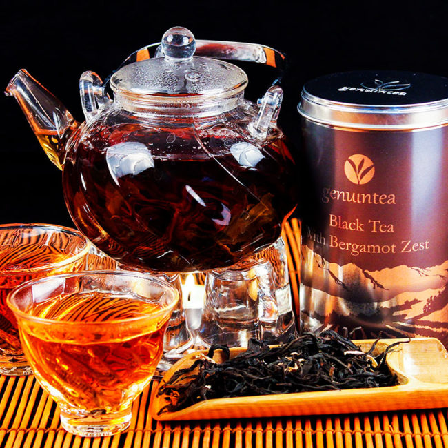 как заваривать чай с бергамотом