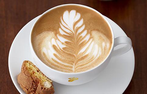кофе с апельсиновым соком и коньяком