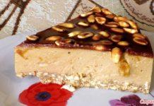 карамельный торт без выпечки - пошаговый рецепт
