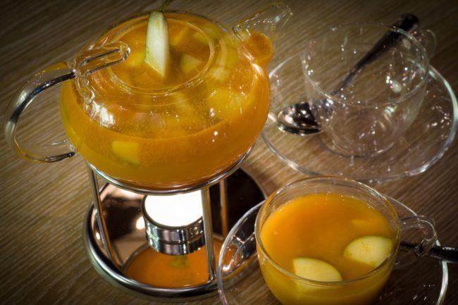 облепиховый чай с айвой