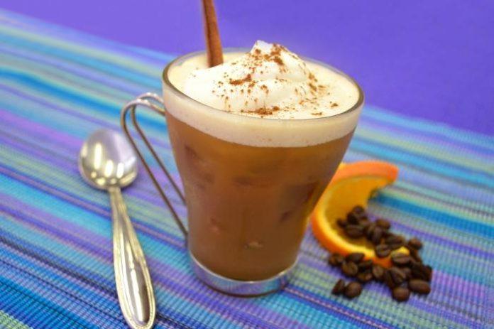 рецепт кофе фраппе