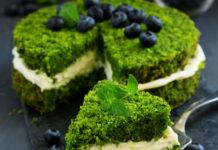 рецепты торта со шпинатом