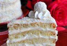 торт рафаэлло - рецепт без выпечки