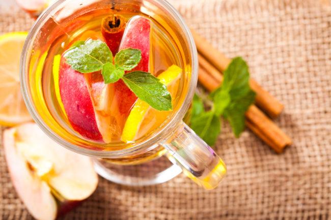 яблочный чай с ванилью