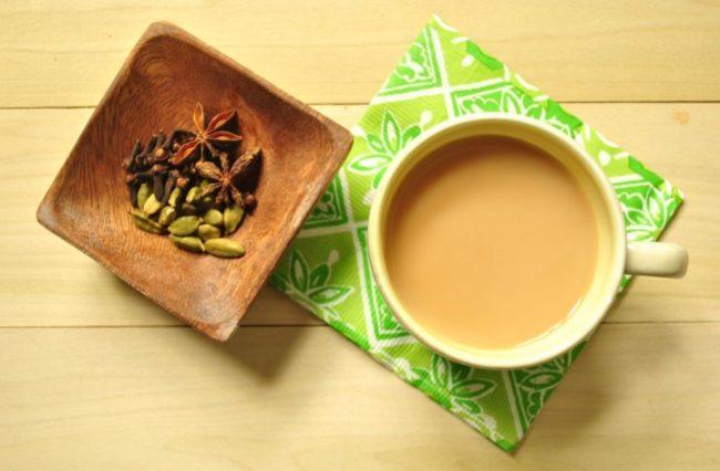 рецепт чая с кардамоном
