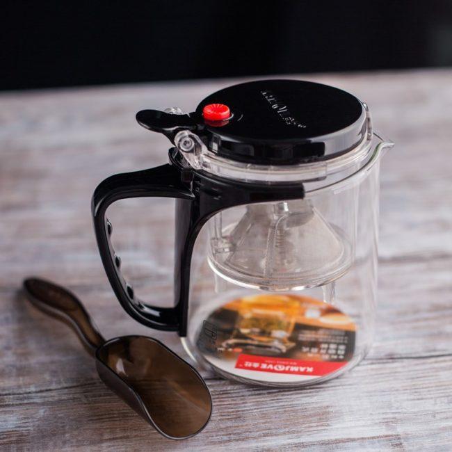 чайник Гунфу с ложкой
