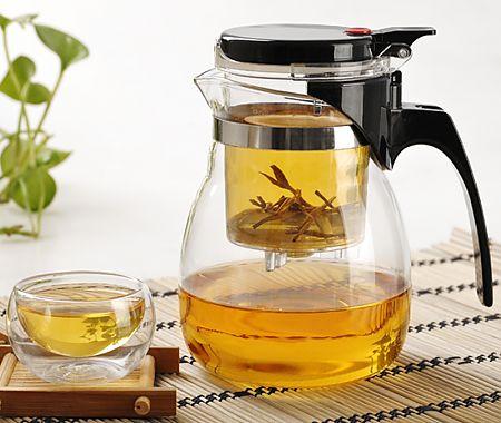 заварочный чайник Гунфу с кнопкой