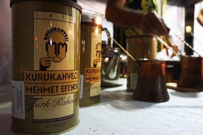 бренд кофе Мехмет Эфенди