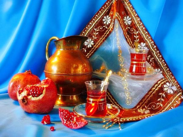 турецкий классический способ приготовления гранатового чая