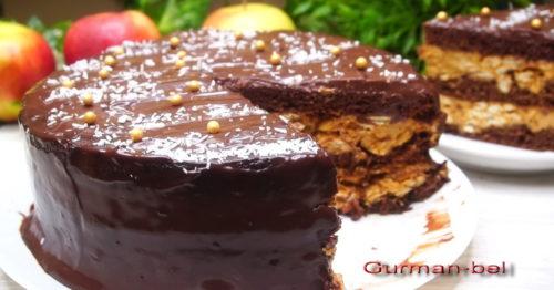 ингредиенты для торта Сникерс